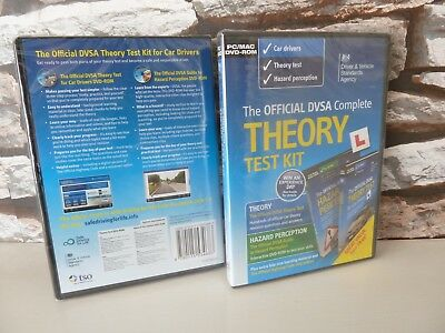 new/sealed  DVSA COMPLETE THEORY TEST KIT (inc HAZARD PERCEPTION CAR DRIVERS)