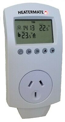 Heatermate with Timer Thermostat Plug