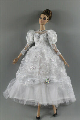 Fashion Royalty Princess Dress/Clothes/Gown+veil For 11.5 in. Doll c50