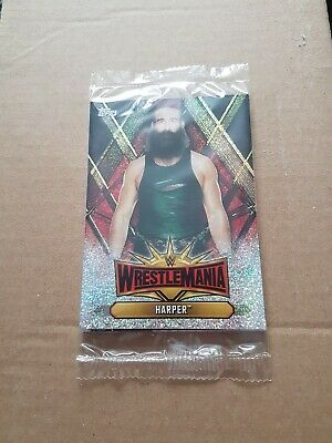 Harper Topps WWE Champions 2019  Trading Card no 30 wrestling wrestlemania