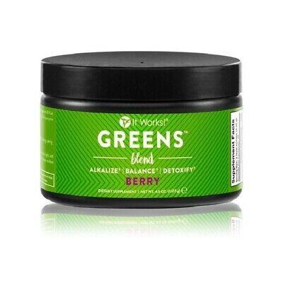It Works Greens Berry Blend Detoxify-Your 34 Fruits&Veges Everyday!Free Shipping