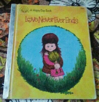 Vintage 1983 Happy Day Childrens Book Love Never Ends
