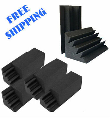 8 Pack Soundproofing Insulation Bass Trap Panels Acoustic Foam Studio NICE PRICE