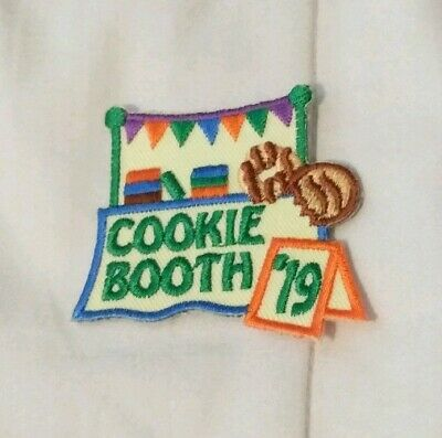 GIRL COOKIE BOOTH SALES 2019 '19 Fun Patches Crests Badges SCOUT