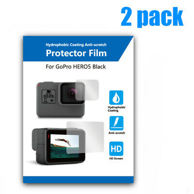 For  GOPRO Hero 7/6/5 Sport Camera Waterproof Lens Protector Tempered Glass Film