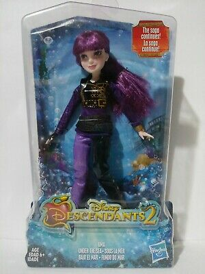 Disney Descendants 2 Mal Enchanted Sea Doll Misprint Rare Collectible