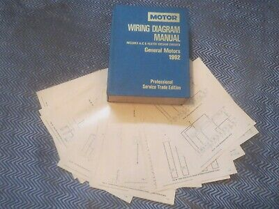 1992 oldsmobile achieva pontiac grand am skylark wiring diagrams schematics  set