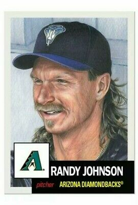 Randy Johnson 2019 Topps Living Set Card #160 Limited Print Run HOF