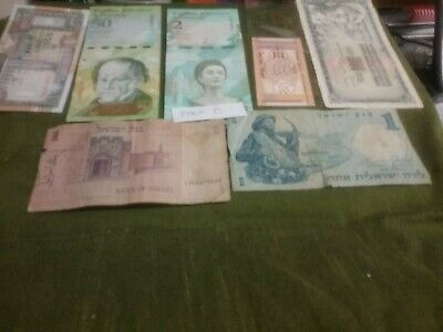 World Banknote Mix Pack 8