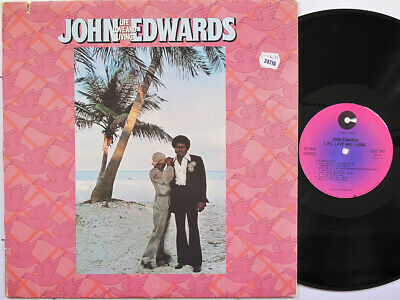 JOHN EDWARDS LP, Life, Love And Living (COTILLION US Issue EX/EX)