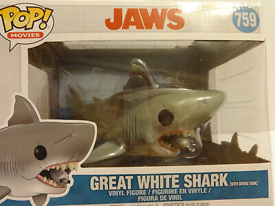 Funko Movies Jaws 6 inch Great White Shark With Diving Tank