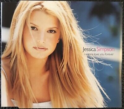 Jessica Simpson - I Wanna Love You Forever - 3 TRACK CD SINGLE