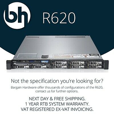 Dell PowerEdge R620 Intel Xeon E5-2600 Six Core H310 Cheap 1U 12G Rack Server