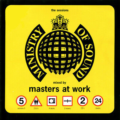 Ministry of Sound - Sessions Vol. 5,  Masters at Work (2 X CD)