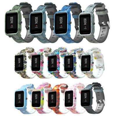 20mm Multicolors Silic Band Wrist Strap For Xiaomi Huami Amazfit Bip Youth /LITE