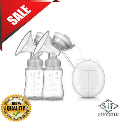 Baby USB Double Intelligent Electric Breast Nipple Suction Pump Comfort Single