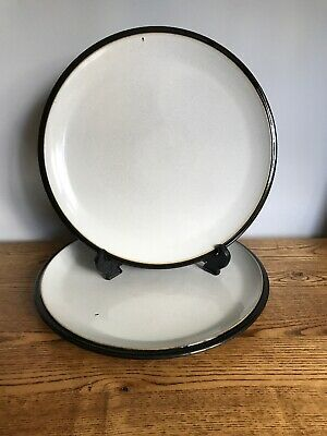 Denby - Everyday - Black Pepper - Dinner Plates x 2