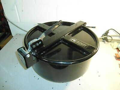 Pig Burpless Large One-Hand Sealable Drum Funnel DRM1210-BK