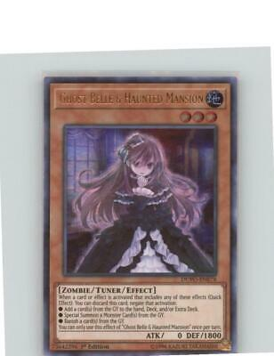 Yugioh! Ghost Belle & Haunted Mansion Ultra Rare 1st edition DUPO NM
