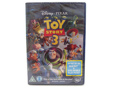 Toy Story 3 DVD Brand New Disney Pixar 2010 Tom Hanks Tim Allen