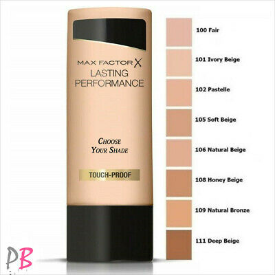 Max Factor Lasting Performance Liquid Foundation 35ml **Various Shades**