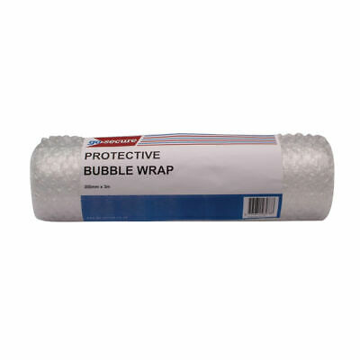 Go Secure Bubble Wrap Roll Small 300mmx3m Clear (Pack of 16) PB02288