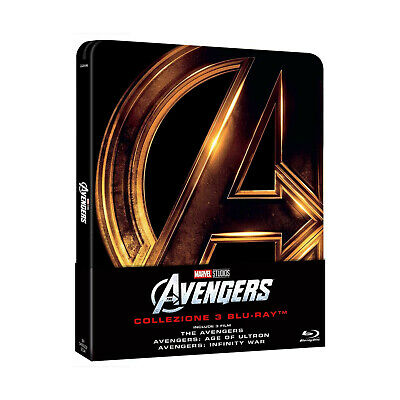 The Avengers: Trilogy [Blu-ray Steelbook - Italian Edition]