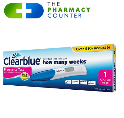 Clearblue Pregnancy Test Digital Weeks Indicator 2 Pack