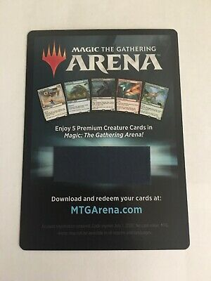 Magic the Gathering ARENA Gift Pack 2018 Exclusive Creature Code EMAIL Delivery