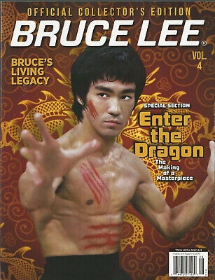 BRUCE LEE Volume 4 Magazine Official Collector's Edition Rare Photos NEW