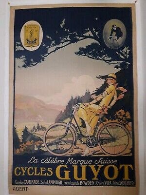 BICYCLE VINTAGE AD POSTER Gladiator RARE HOT NEW 2