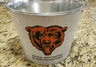 Miller Lite CHICAGO BEARS Beer Bucket - NFL