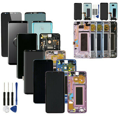 For Samsung Galaxy S8+ S9 Plus Original LCD Display Screen Digitizer Frame Tools