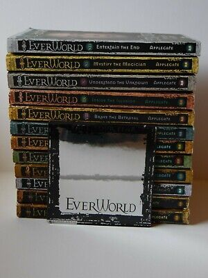 Set of Everworld Books 1 - 12 K A Applegate Paperback plus Face Your Fear Mirror
