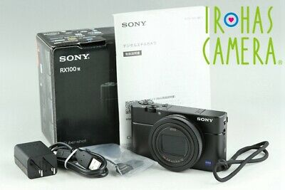 Sony Cyber-Shot DSC-RX100M6 Digital Camera With Box*Japanese Language Only#22609