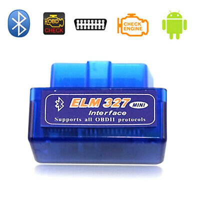 Bluetooth Mini ELM327 OBD2 OBDII Auto Car Diagnostic Interface Scanner Tool
