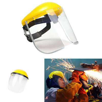 Safety Clear Grinding Face Shield Screen Mask For Spare Visors Eye Protection J