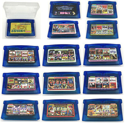 GBA Multicart EG All in 1 Game Cartridge For Nintendo GameBoy Advance US Version
