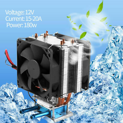 Thermoelectric Peltier Refrigeration Semiconductor Cooling System Cooler Fan