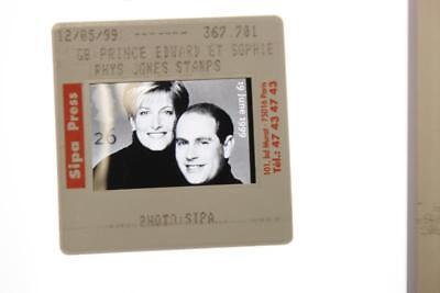 35mm Slide of Prince Edward and Sophie Rhys-Jones royal mail special stamp.