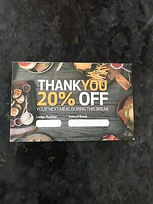 Centre Parcs Meal Discount Voucher 20% Off Hucks Bella Italia Center Parks
