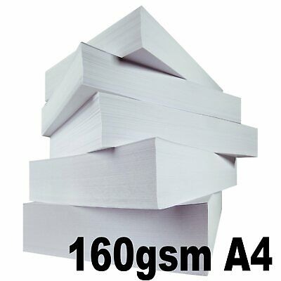 White A4 160gsm Paper Printer Card Colour Mixed Brands 250 - 1250 Sheets Reams
