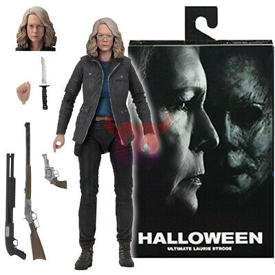 """NECA Halloween Laurie Strode Ultimate 7"""" Action Figure 2018 Movie Collection New"""