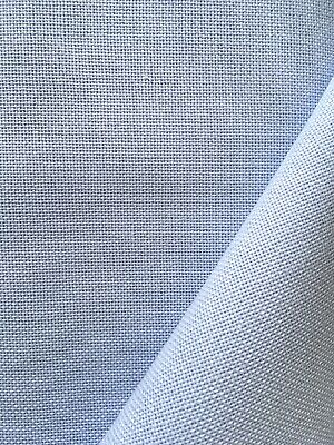 Pale Blue 32 Count Zweigart Murano even weave fabric - various size options