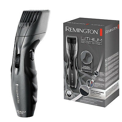 Remington Mens Cordless Lithium Barba Facial Hair Styler & Beard Trimmer Shaver
