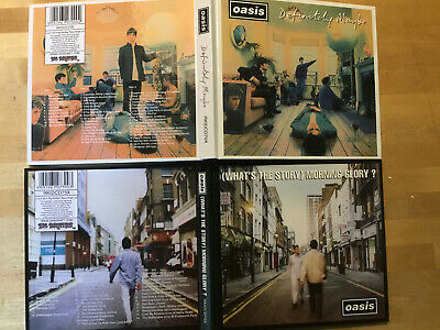 Oasis [2x 2 CD Album] Definetely Maybe + (What's the Story)Morning Glory? LImEd