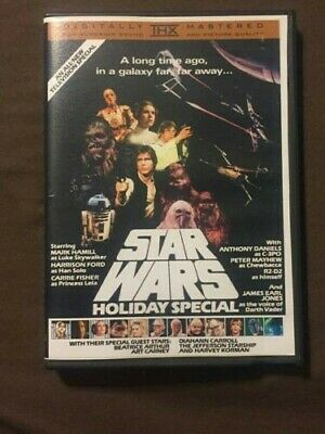 Star Wars Holiday Special 1978 Unreleased DVD. Christmas! Life Day!