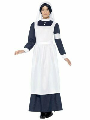 Quality childrens WW1 nurse florence nightingale book week costume ages 6-10 yrs