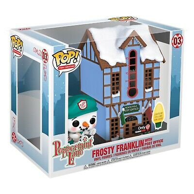 Funko Pop Town Frosty Franklin With Post Office *Gamestop Exclusive* Preorder