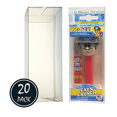 Katana Collectibles Protector Case For Funko POP PEZ. Pack Of 20.